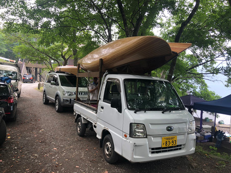 日光中禅寺湖カヌーツアー・試乗体験(2020/8/9)