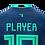 Thumbnail: Mockup Shirt - 3 Stripes - V Neck - Back