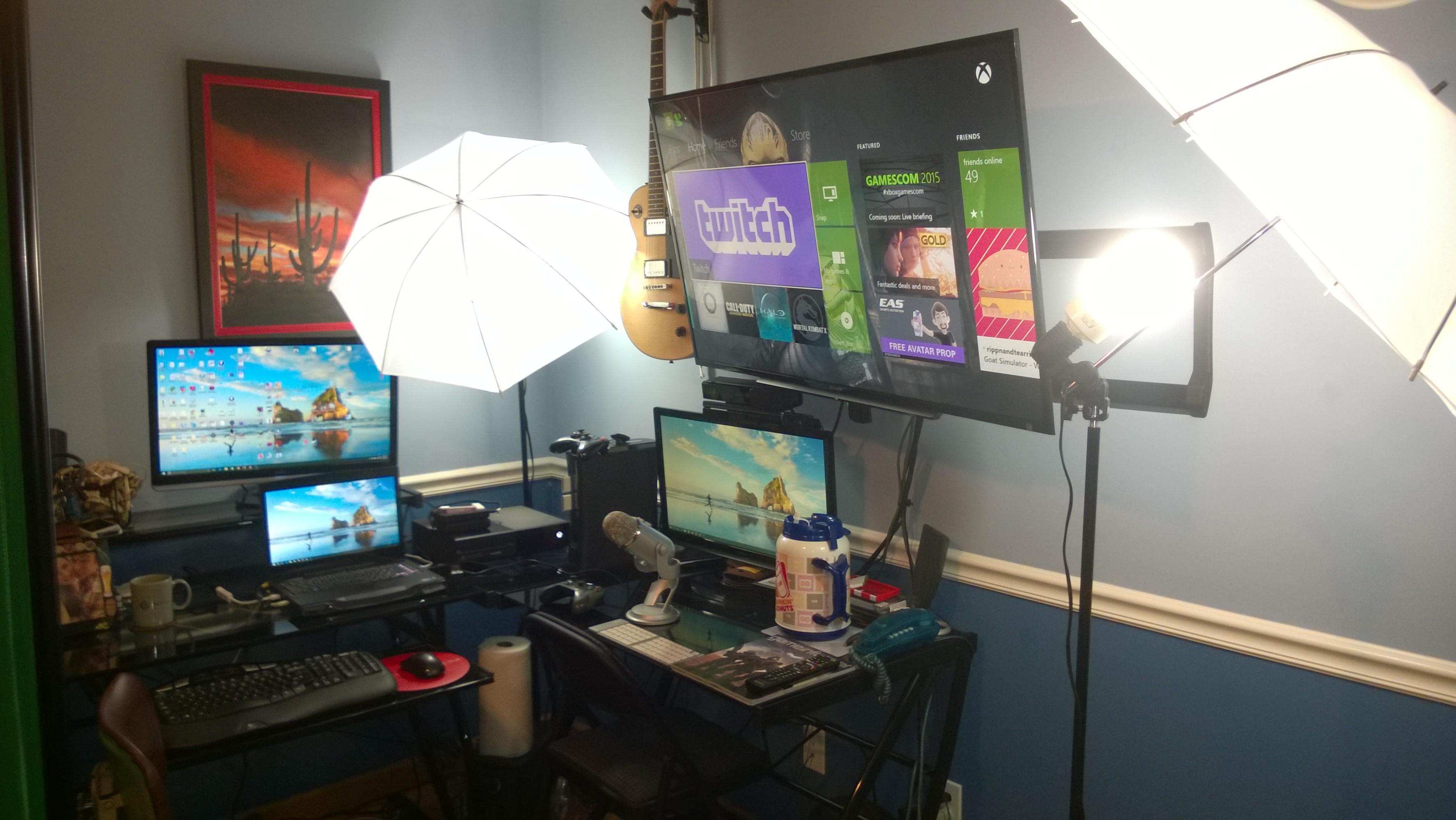 Gaming Streaming Setup Twitch