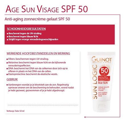 Age Sun Visage SPF 50