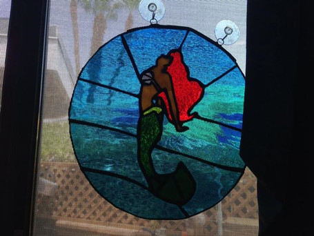 Made this for Raphael,  he likes mermaid