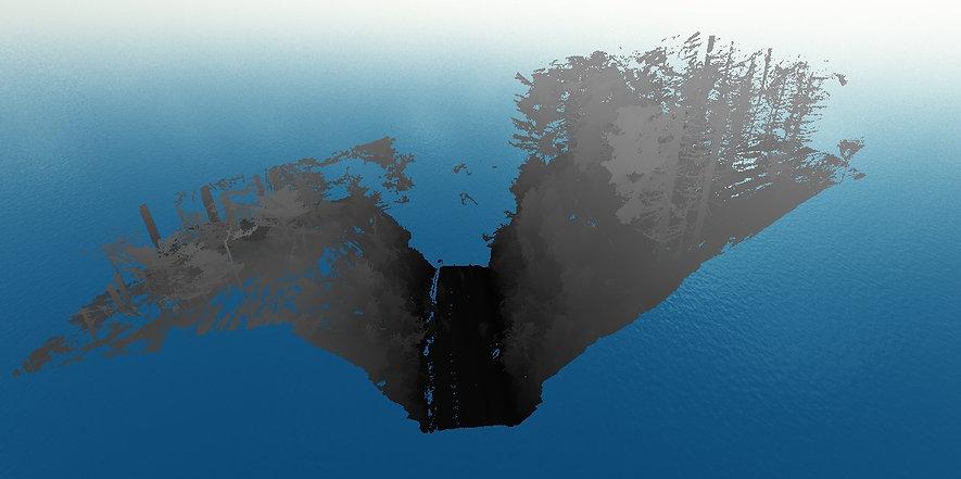 Odstranění nadzemních objektů z bodového mračna v programu Carlson Precision 3D