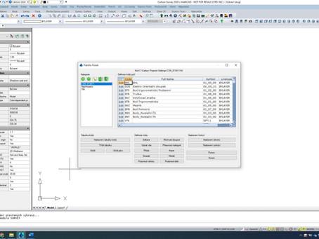 Funkce pro snadné a rychlé vytvoření pasportu, polohopisu a výškopisu v software Carlson