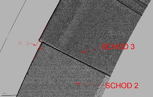 Zjištění vady díky 3D laserového skenová