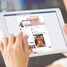 Enchanted Designs social media campagin