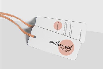 Enchanted Designs hangtags