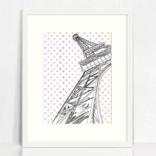 Eiffle Tower illustration