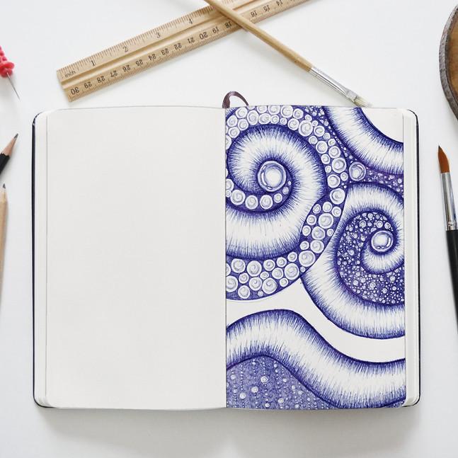 Water sketch