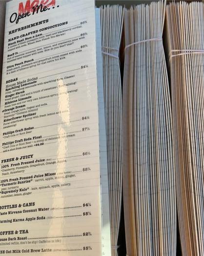 Meet on Main menus