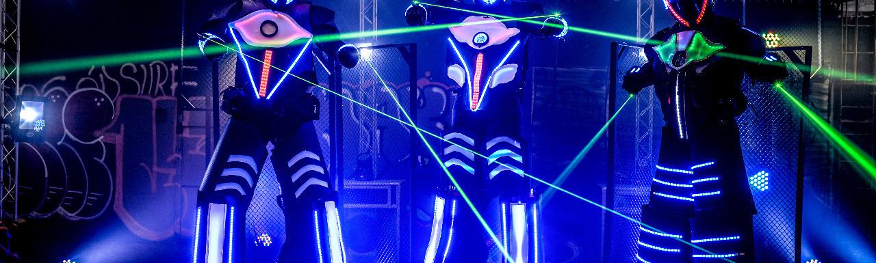 Robô de Led megatron