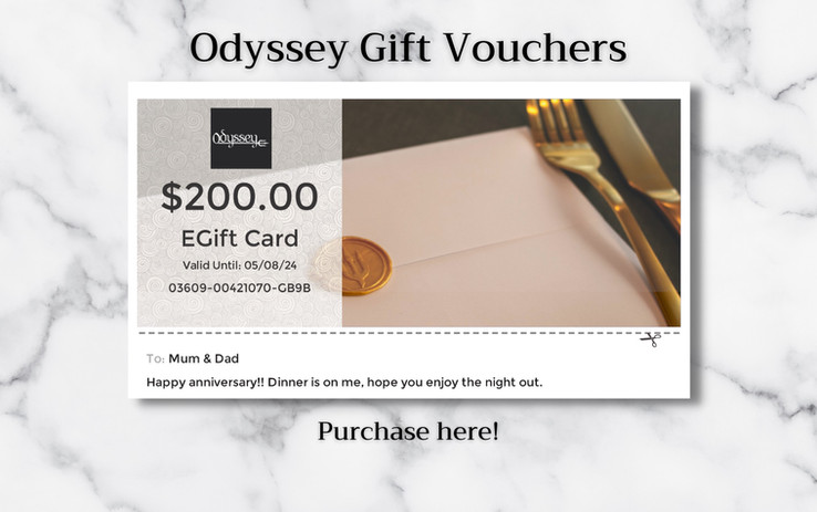 Odyssey Gift Cards