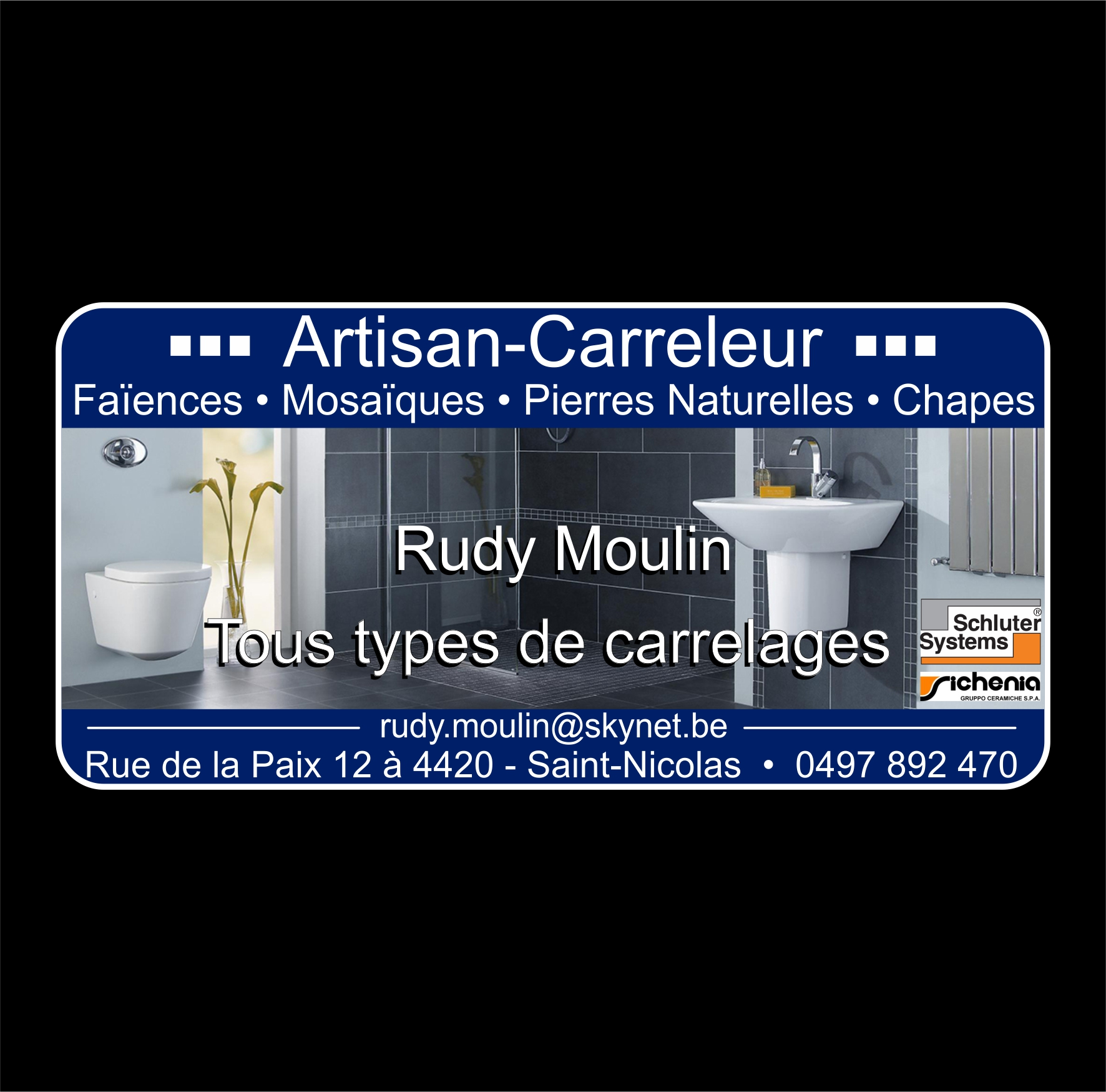Rudy Moulin Carreleur