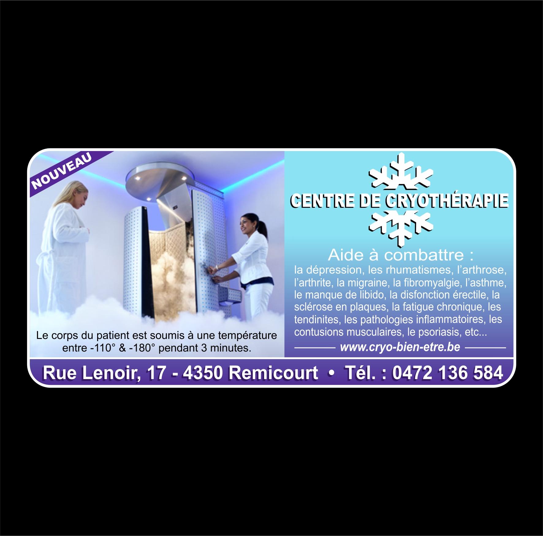 Centre Cryothérapie