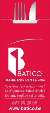 Pochette à couverts - Batico