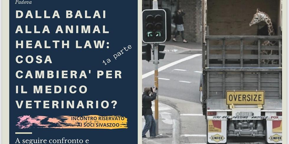 Dalla Balai alla Animal Health Law: cosa cambierà per il medico veterinario?