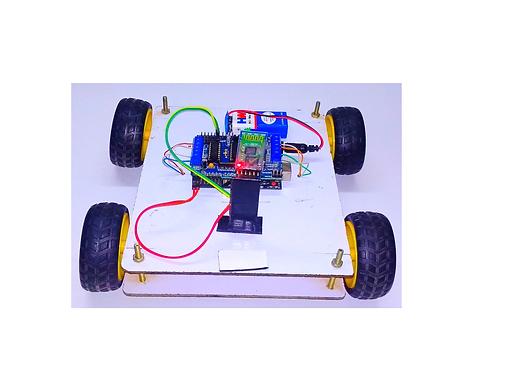 Bluetooth Control Robot    Voice Control Robot DIY Kit