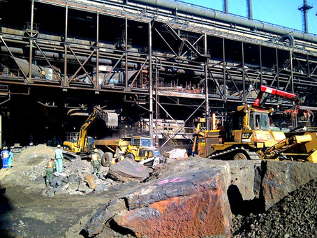 25 YEARS OF FURNACE DEMOLITION PROJECTS