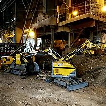 dickinson group's furnace demolition