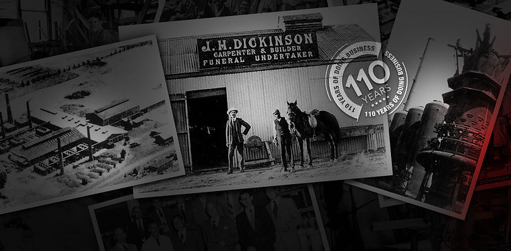 (DGC) Dickinson Group of Companies History goes back four generations of a family owned business