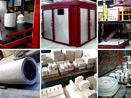 MORE ABOUT PRECAST REFRACTORY SHAPES