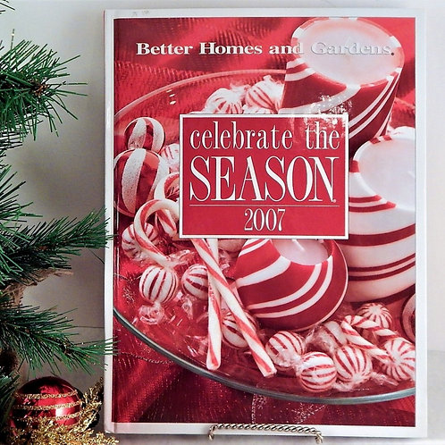 book, celebrate the season, better homes, home and gardens, christmas, holiday book, recipes, entertaining, crafts, decoratin