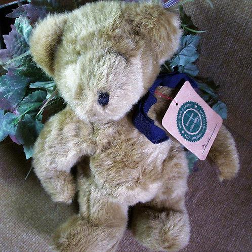 toy, stuffed animal, traditional bear, boyds, jointed bear, teddy bear, beige bear, boyds bear,bbc, boyds bear collection, co