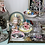 A picture of vintage boudoir decor, collectibles, trinket dishes, jewelry storage, figurines and knick knacks from A Vintage