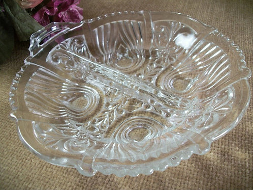 picture of a Hollywood movie stars art deco serving dish