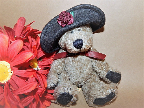 boyds, boyds bear, carly, small  bear, girl bear, stuffed plush animal, carly bearsworth, 919801 , retired boyds bear, gift f