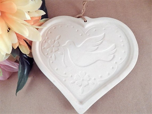 baking, cookie mold, shortbread, heart, doves, wedding, ceramic, paper crafts, paper making,card making, cookie art, gift for