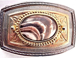 Belt Buckle Mens Genuine Jasper