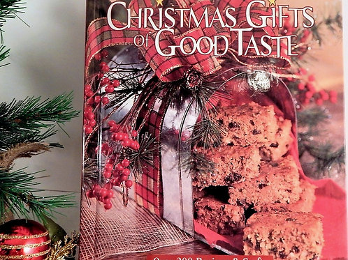 Book Christmas Gifts of Good Taste 2002 Hardcover  Food Entertaining Decorating Gifts Baking Crafts Inspiration Collectible K