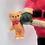 Santa Claus Christmas Tree Ornament ENESCO Christmas Decoration Free Standing Figurine Miniature Santa Vintage Collectible