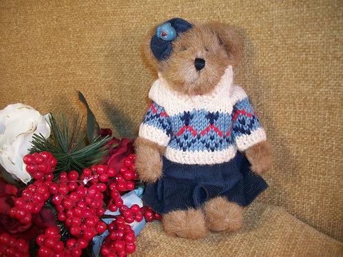 toy, stuffed animal, traditional bear, boyds, jointed bear, teddy bear, beige bear, boyds bear,bbc, boyds bear collection,