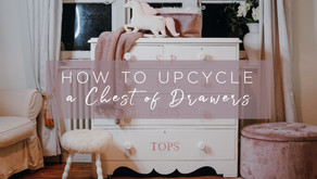 How To Upcycle a Chest of Drawers