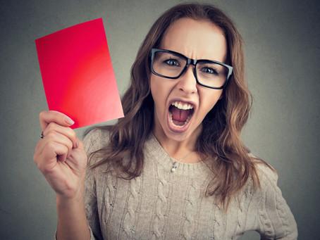 Halt Stopp - Warum Musterreden keine Reden sind
