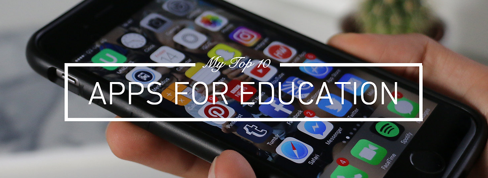 Jack Edwards, UK male lifestyle and student blogger shares his top 10 apps for education, perfect for homework planning, revision, student discount and more!