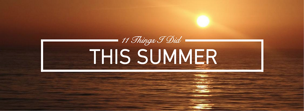 Jack Edwards, UK male lifestyle blogger 2015 11 things I did this summer travel lifestyle blog