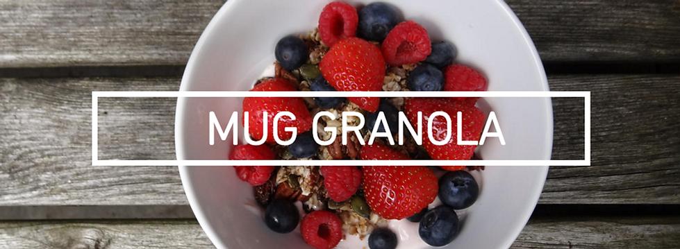 UK Male Blogger Jack Edwards shares his healthy 'Mug Granola' breakfast recipe. The Jack Experience.