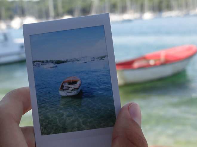 The Jack Experience, Jack Edwards, Summer Essentials, Favourites, Croatia, Polaroid, Boat, Red, Blue, Tumblr, Picture, Photograph, Fujifilm Instax
