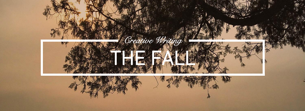 UK male lifestyle and travel blogger Jack Edwards shares a piece of creative writing titled 'The Fall'