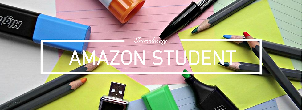 Jack Edwards, UK male lifestyle blogger, presents Amazon Student prime offer / deal for education. Student discount, sponsored, brand deal, Men's, Lifestyle, Blog, Blogs