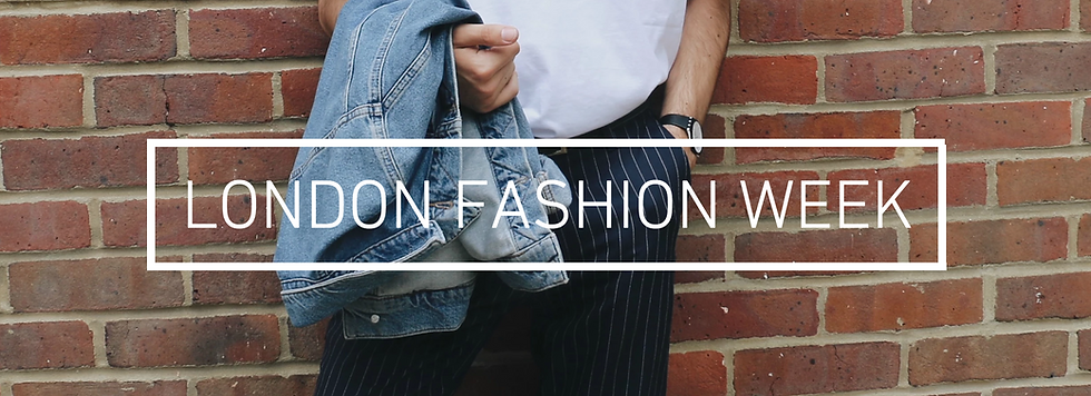 Jack Edwards, UK male lifestyle blogger on what to wear to London Fashion Week Men's Topman show with an outfit bringing together slogan tees, denim and pinstripe trousers!