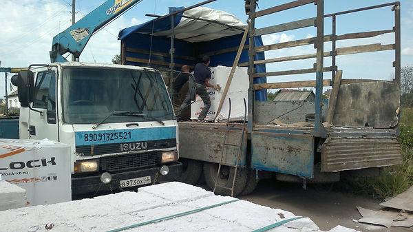 Доставка газобетона по кирову и кировской области, Униблок в Кирове купить, бесплатная доставка