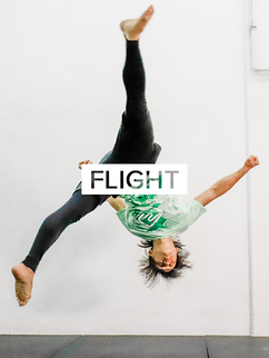 All things tumbling, parkour, stunt & acrobatic. Build skills that make you feel like you're in the Olympics or the movies! Click to see Flight classes & schedules.