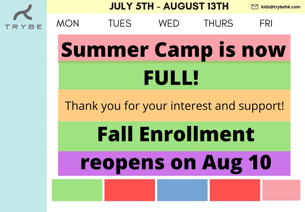 Summer Camp 2021 FULL