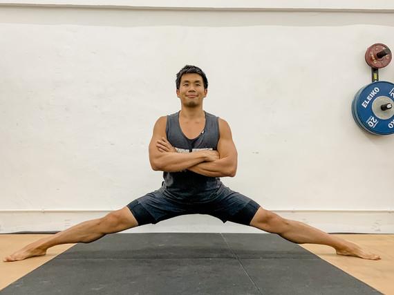 Man Stretch