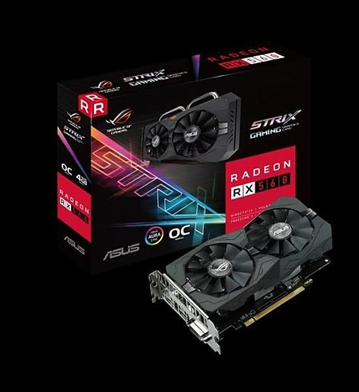 ASUS ROG-STRIX-RX560-O4G-EVO-GAMING GRAPHIC CARD