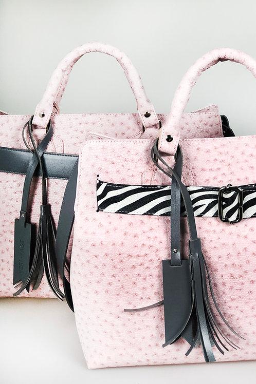 Kida Vegana Selva rosa e zebra