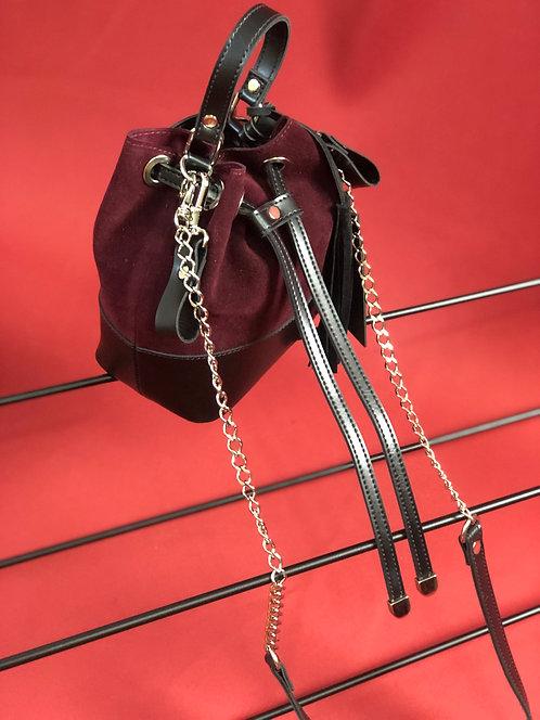 Bolsa Sophia Veg Matisse vermelha